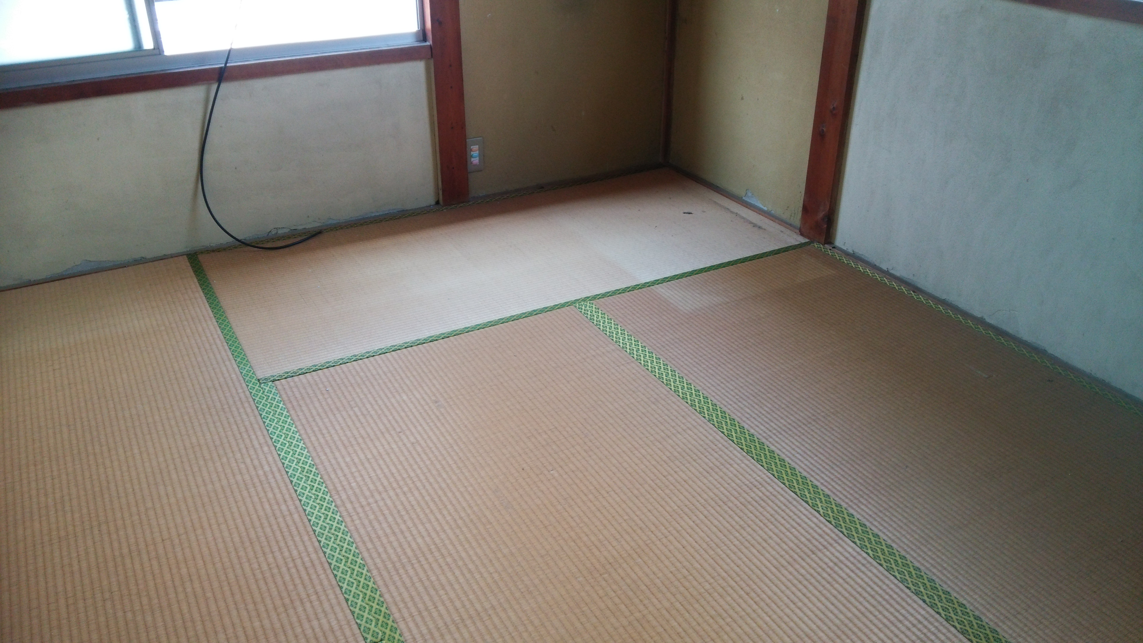 八幡市 O様邸 和室 琉球畳に交換の施工後画像
